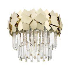 Quasar Lampa plafon kryształowy 5 płom. złoty Zuma Line C0506-05A-B5E3