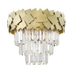 Quasar Lampa plafon kryształowy 6 płom. złoty Zuma Line C0506-06A-B5E3
