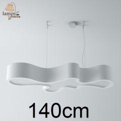 Lampa żyrandol 5 płomienny ATEGO różne kolory Cleoni 12391CCZP1