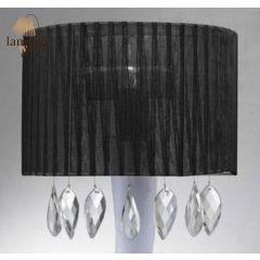 Lampa kinkiet SIDNEY black Azzardo AZ0913