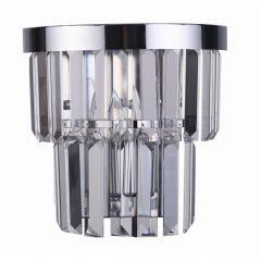 Vetro Lampa kinkiet kryształowy 1 płom. chrom Light Prestige LP-2910/1W