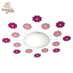 Lampa plafon VIKI 1 kwiatki EGLO 92147