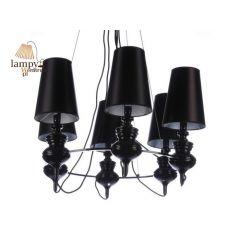 Lampa żyrandol 6 płomienny BAROCO Azzardo AZ1379