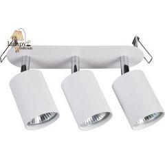 Lampa plafon 3 płomienny EYE FIT biały czarny Nowodvorski 9394 9397