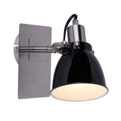 Lampa kinkiet PICTOR czarny Zuma Line RLB94023-1B