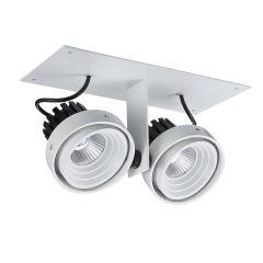 Lampa plafon LED Patrizio Double Italux GL7118-2/2X12W 4000K WH+BL