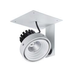 Lampa plafon LED Patrizio Single Italux GL7118-1/1X12W 4000K WH+BL
