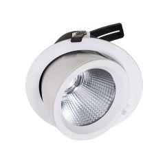 Lampa oczko wpuszczane BALUUM WH 3600LM Italux DW-305/WL-WW/20