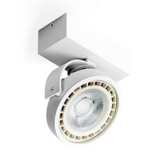 Lampa plafon LED JERRY 1 230V biały Azzardo AZ1366