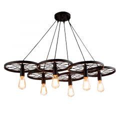 Lampa wisząca RANCH 6 Azzardo AZ1650