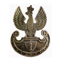 Przypinka Orzeł 1 pułku Ułanów Legionów Polskich - PINS