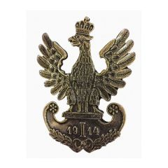 Przypinka Orzeł 2 Pułku Ułanów Legionów Polskich - PINS