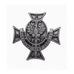 Przypinka Krzyż Narodowych Sił Zbrojnych - PINS