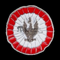 Przypinka rozetka kokarda narodowa Powstanie Wilekopolskie - PINS v2