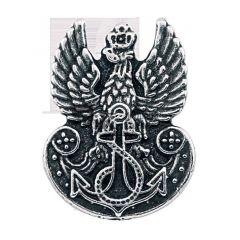 Przypinka z orzełkiem Marynarki Wojennej RP - PINS