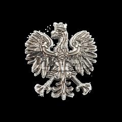 Przypinka orzeł współczesny, nawiązuje do polskiego godła z 1990 r. - PINS