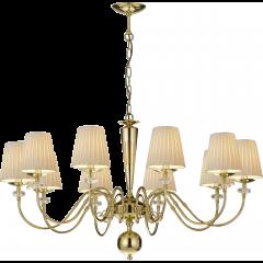 Lampa żyrandol 10 płom. Lilosa AMPLEX