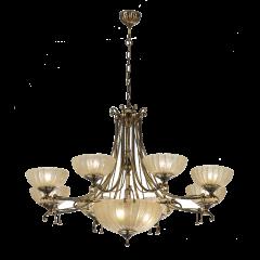 Lampa żyrandol 10 płom. Granada AMPLEX