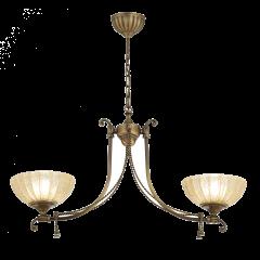 Lampa żyrandol 2 płom. Granada AMPLEX