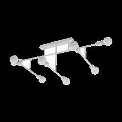 Lampa plafon 8 płomienny BELSIANA biały EGLO 98033