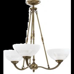 Rovato lampa wisząca 3 płomienna Kutek ROV-ZW-3
