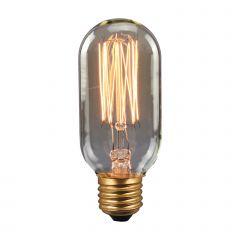 Retro INC Bulb E27 40W DIM podłużna Italux 154045