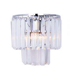 Amedeo Lampa kinkiet kryształowy chrom Zuma Line 17106/2W-CHR