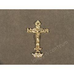 Krzyż wiszący zdobiony Mosiądz nr. 107