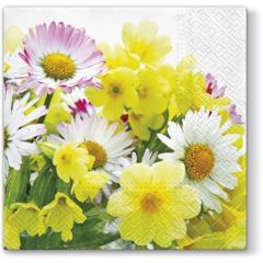 Pl Serwetki Tat Yellow Bouquet 94996