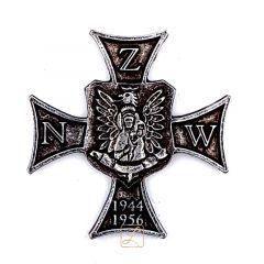 Przypinka pamiątkowa odznaka Narodowego Zjednoczenia Wojskowego - KRZYŻ NZW - PINS