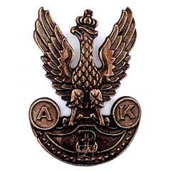 Przypinka Armii Krajowej wz. 2 Orzeł AK - PINS
