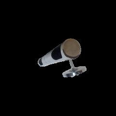 Kinkiet 2 płomienny Tuba pełna chrom E14 Lamptechnik
