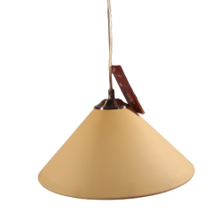 Lampa wisząca 1 płomienna Stożek Lis Lighting