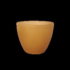 Klosz Stożek mini, szkło murano brązowe, E14