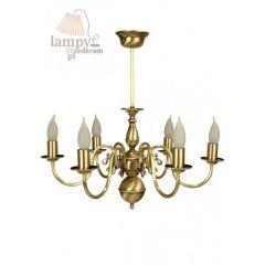 Lampa żyrandol 6 płom. Flamand 0201/JP6 SOLAR