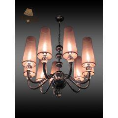 Lampa żyrandol 9 płomienny ALEKSANDER Sinus 1677D/L9