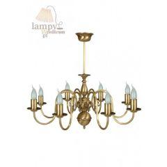 Lampa żyrandol 8 płom. Flamand 0202/JP8 SOLAR