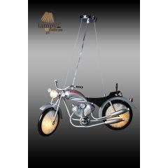 Lampa żyrandol 3 płomienny MOTOR HONDA LED Sinus 7041