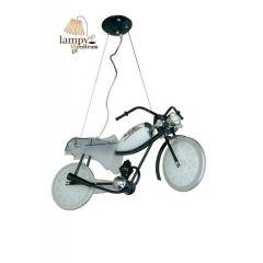 Lampa żyrandol 3 płomienny MOTOR LED z autografem Sinus 1102