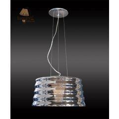 Lampa zwis pojedynczy LULU transparent mały Sinus P6027-1-350