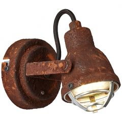 Bente kinkiet lampa ścienna rdzawa  Brilliant 26310/60