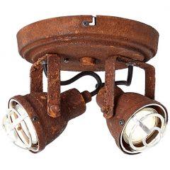 Bente plafon lampa sufitowa rdzawa  Brilliant 26324/60