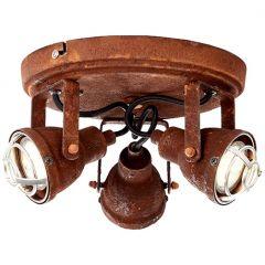 Bente plafon lampa sufitowa rdzawa  Brilliant 26334/60
