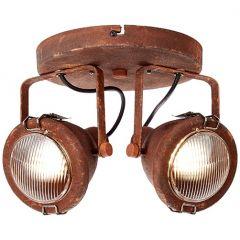 Bentli plafon lampa sufitowa rdzawa  Brilliant 26824/60