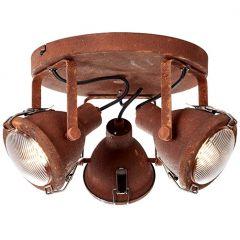 Bentli plafon lampa sufitowa rdzawa  Brilliant 26834/60