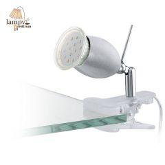 Zestaw 6szt. lampa LED na klips BANNY 1 EGLO - srebrny 93119