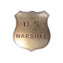 Złota odznaka Szeryfa U.S Marshall Denix 103