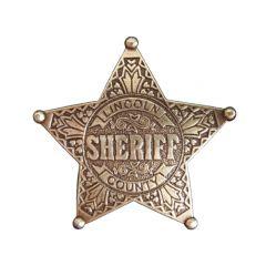 Złota Gwiazda szeryfa Lincoln County Denix 104