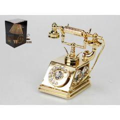 Statuetka telefonu z kryształami Swarovskiego 122-0037