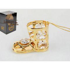 Statuetka buta z kryształami Swarovskiego 122-0118
